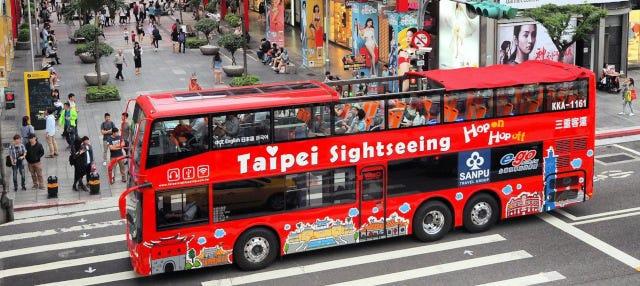 Ônibus turístico de Taipei