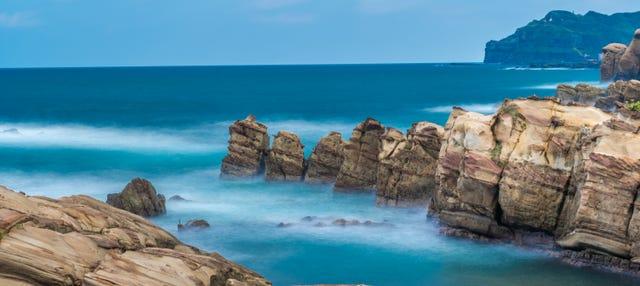Excursão a Jiufen + Nanya Rock