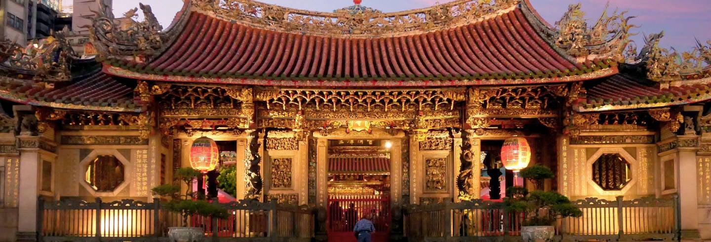 Free tour nocturno por el Templo Longshan ¡Gratis!