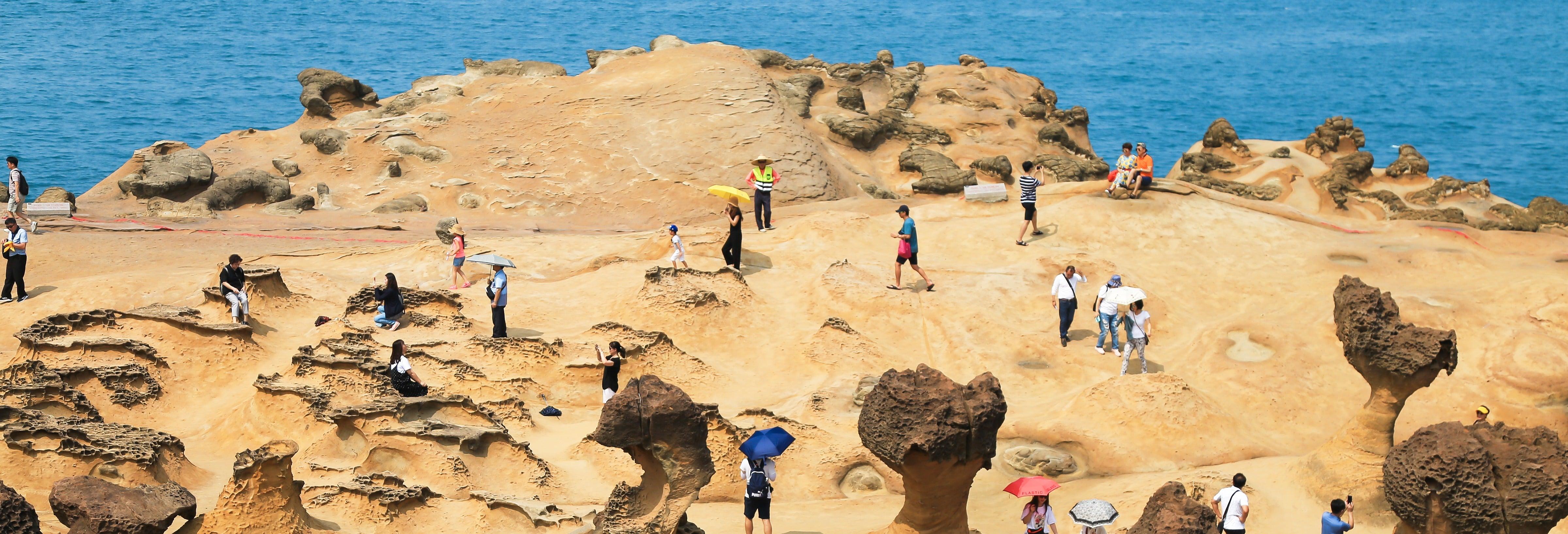 Excursion sur la côte nord de Taïwan