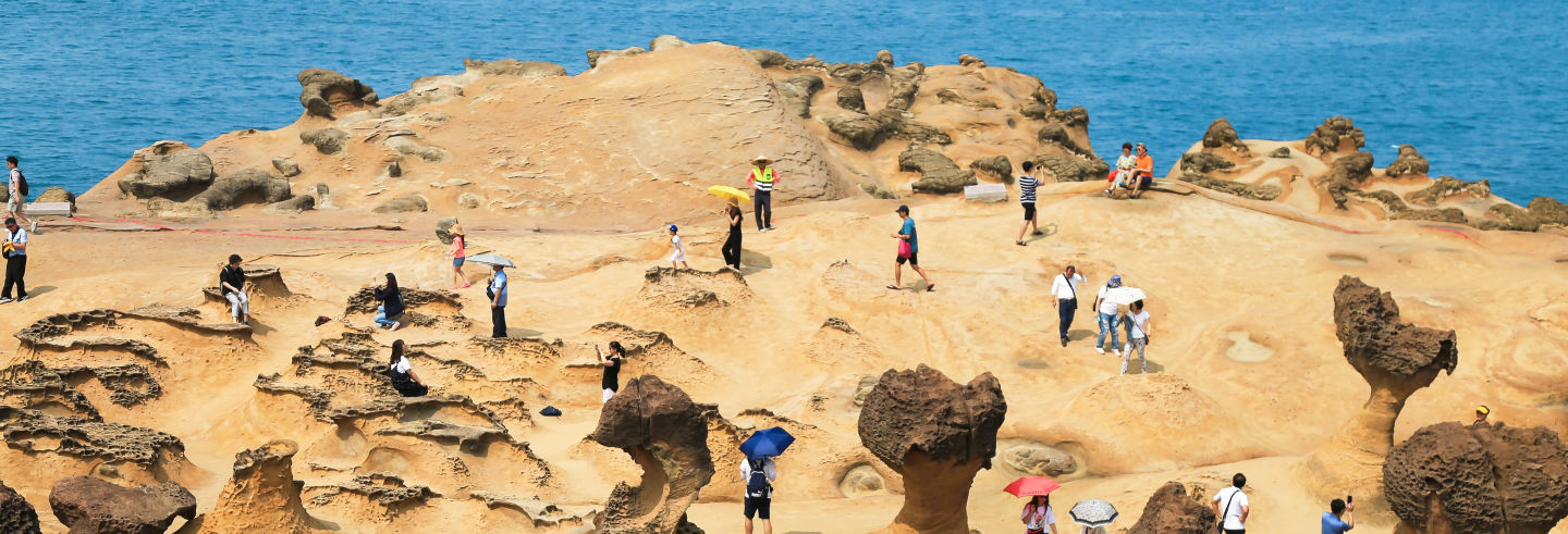Tour pela costa norte de Taiwan