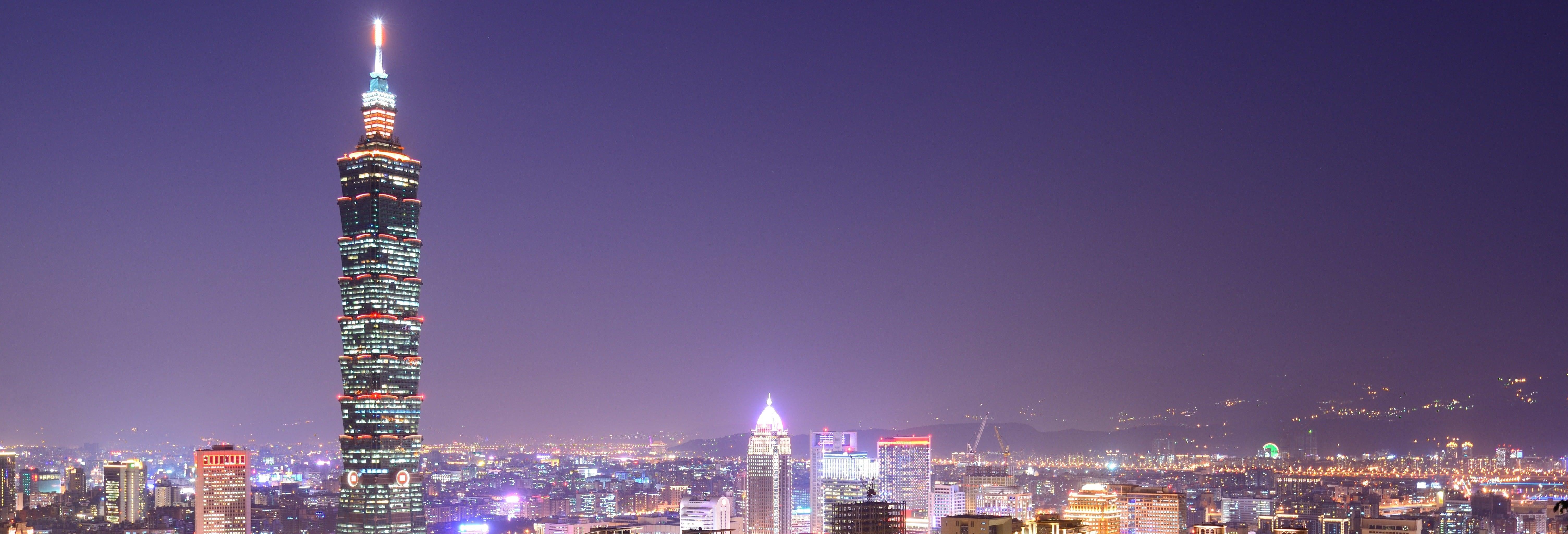 Tour noturno por Taipei