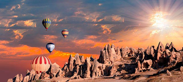 Paseo en globo por la Capadocia