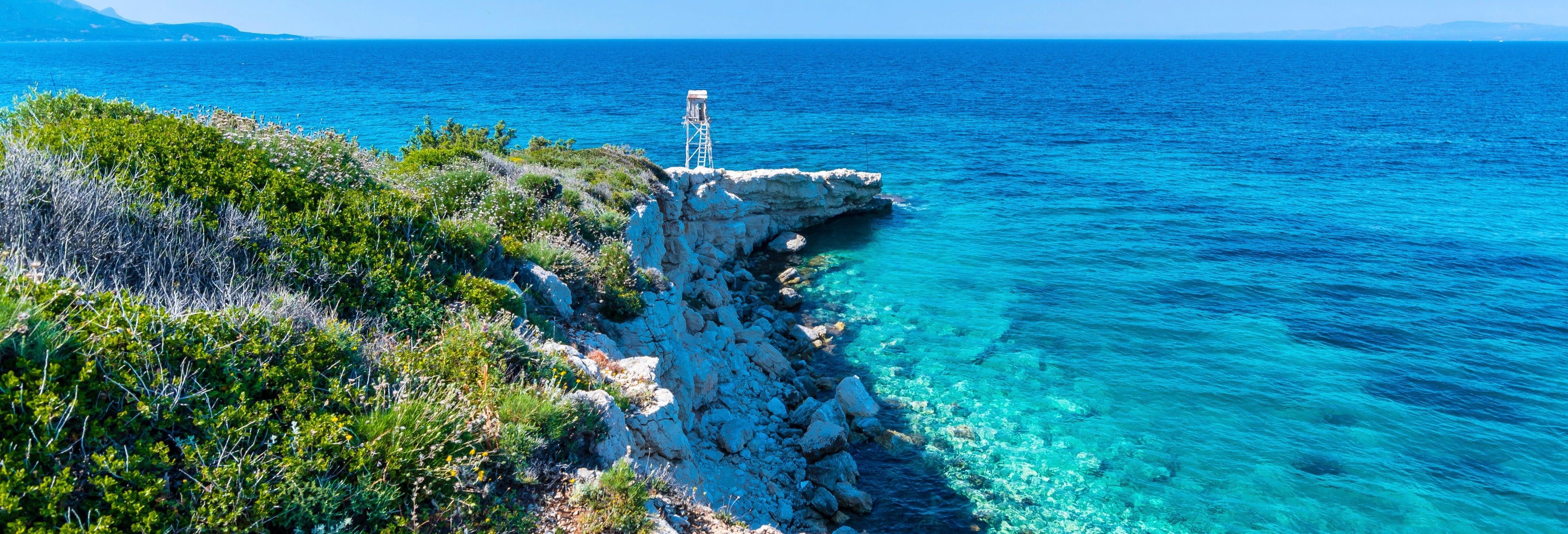 Cruzeiro pela baía de Izmir