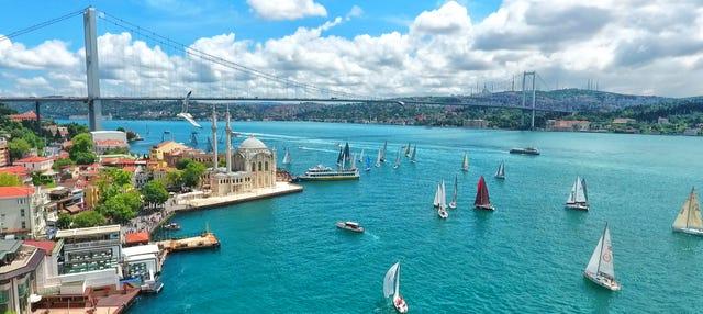 Crucero por el Bósforo + Mezquita Azul + Santa Sofía