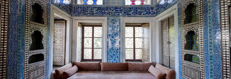 Ingresso do Palácio de Topkapi sem filas