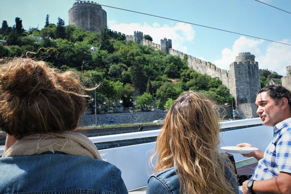Views from the Bosphorus cruise