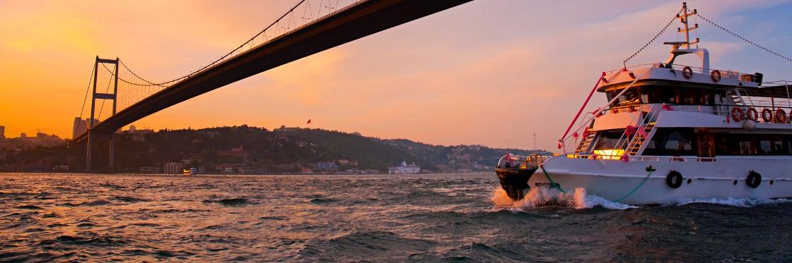 Balade en bateau sur le Bosphore