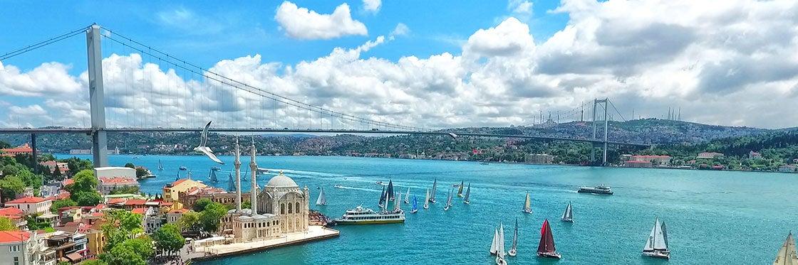 Tempo em Istambul