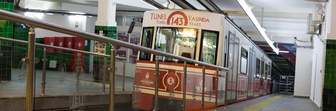 Funiculares em Istambul