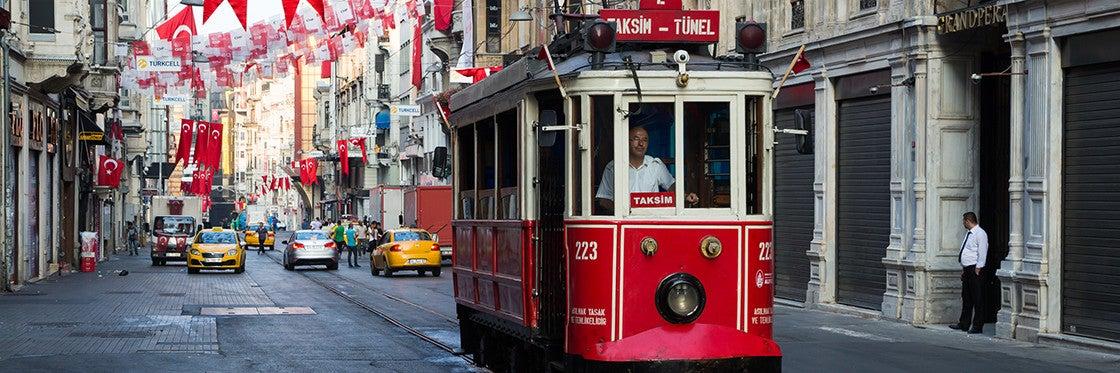 Bondes em Istambul