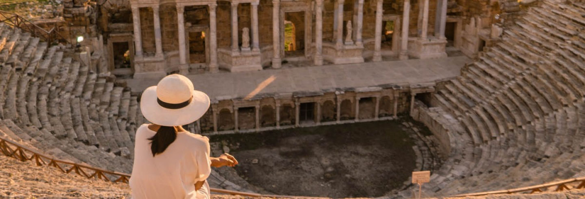 Excursão a Pamukkale e Hierápolis