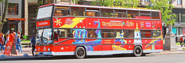 Ônibus turístico de Kiev