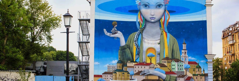 Tour dei graffiti di Kiev