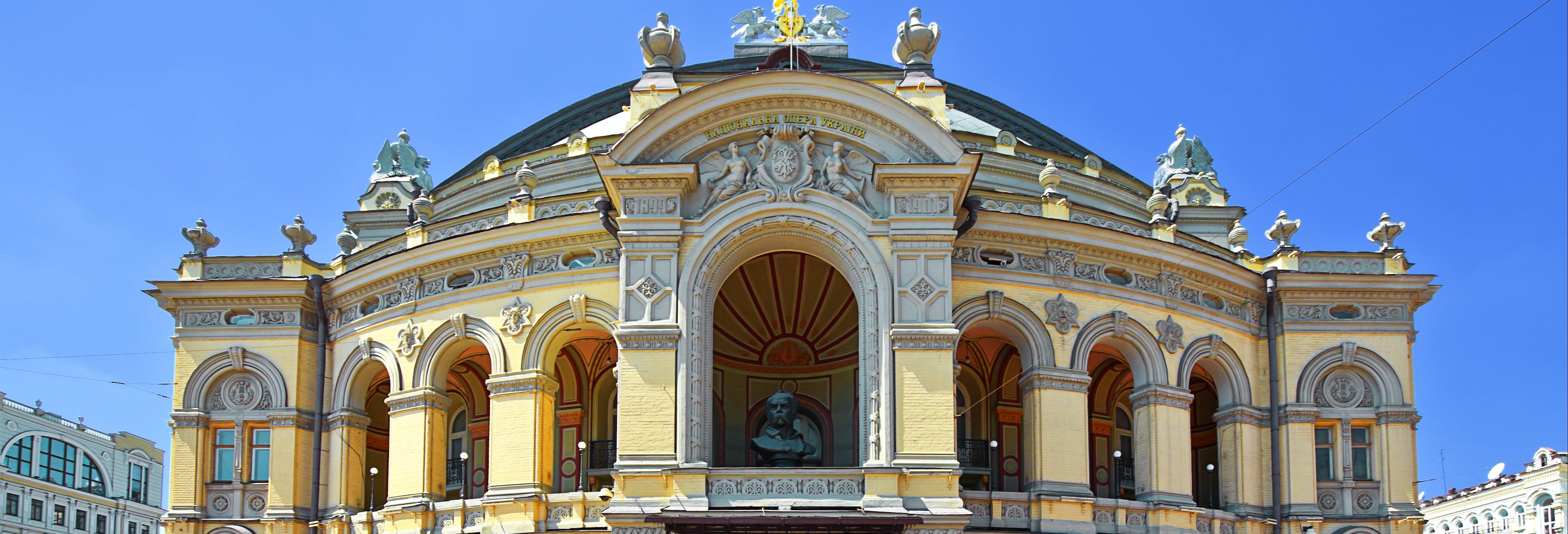 Visita guiada por la Ópera de Kiev