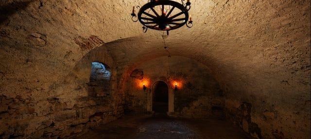Tour privado por los subterráneos de Leópolis