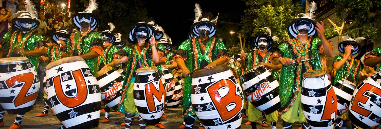 Sfilata delle llamadas del Carnevale di Montevideo
