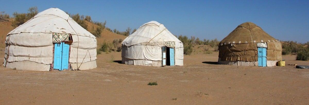 Excursion privée de 2 jours dans le désert de Kyzyl-Koum