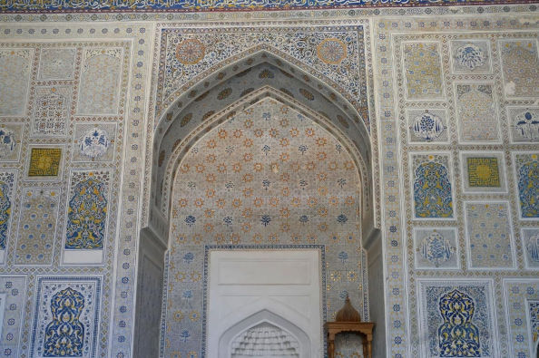 Architecture of the interior of the mosque