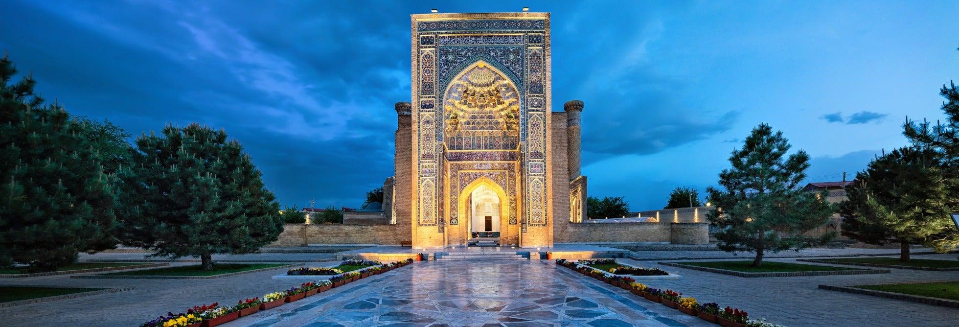 Circuito privado de 9 días por Uzbekistán