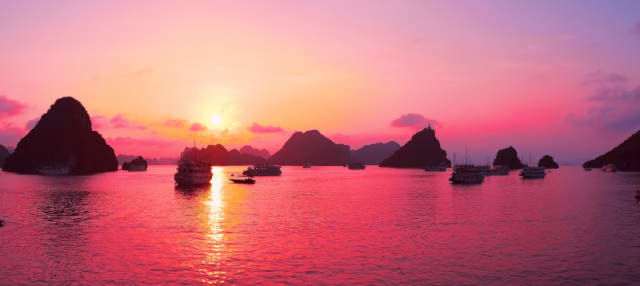 Crucero de 3 días por las bahías de Ha Long y Lan Ha