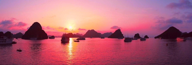 Croisière de 3 jours sur les baies d'Halong et Lan Ha