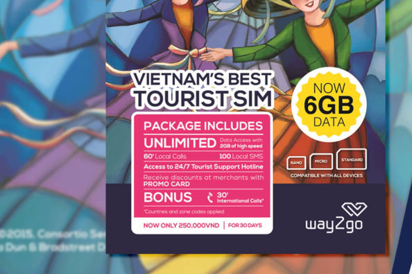 Travel SIM Card with free delivery to Da Nang