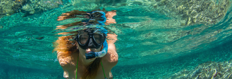 Snorkel en la isla Cham
