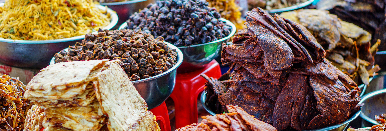 Visite à travers les marchés traditionnels