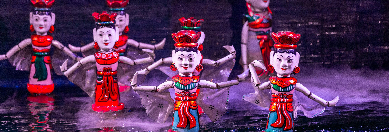 Espectáculo de marionetas de agua