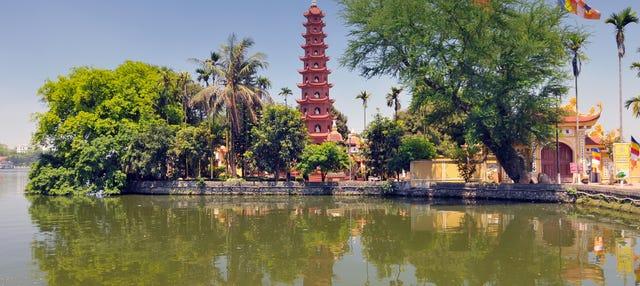 Visita guiada por Hanói