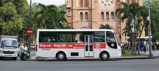 Ônibus turístico de Ho Chi Minh