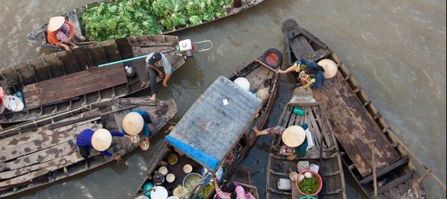Excursión privada al delta del Mekong con guía en español