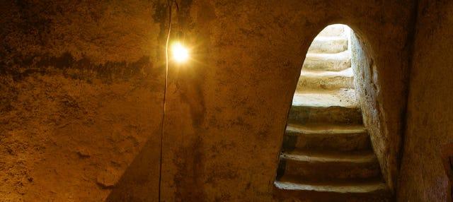 Excursão aos túneis de Cu Chi