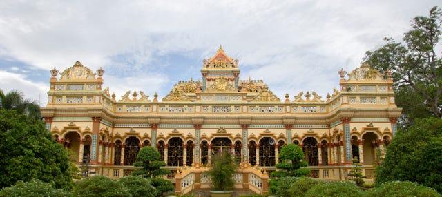 Excursão ao Pagode Vinh Tràng e ao delta do Mekong