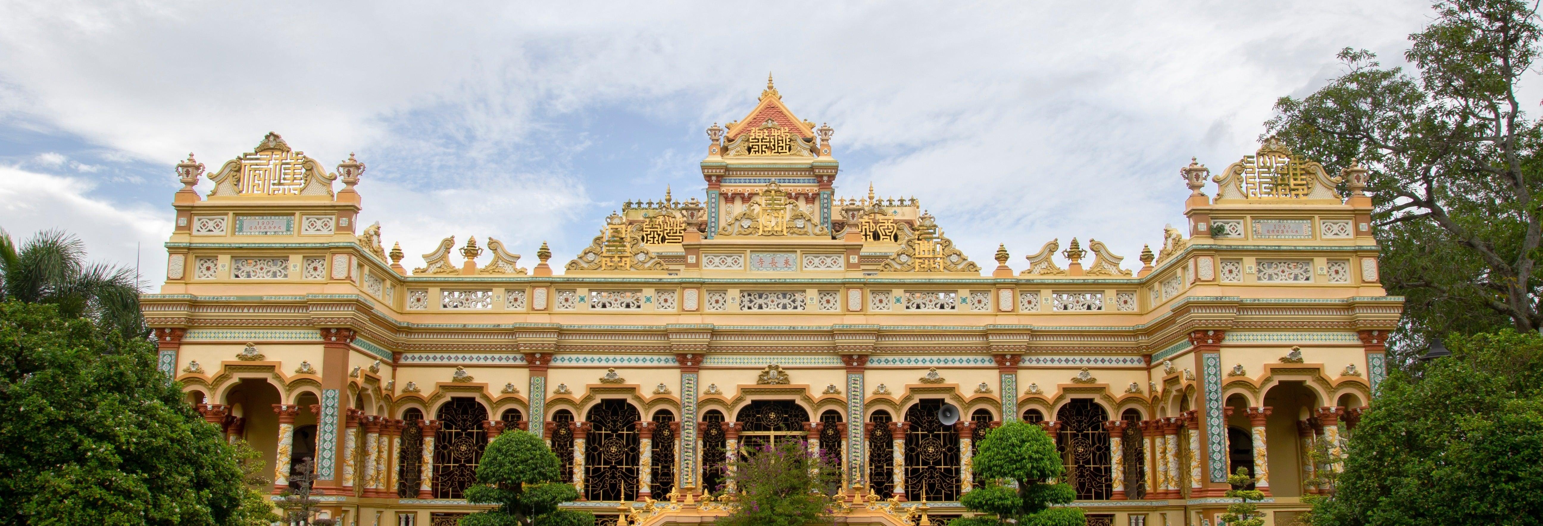 Escursione a Vinh Trang e al delta del Mekong