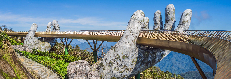 Excursão à Colina de Ba Na e Ponte Dourada
