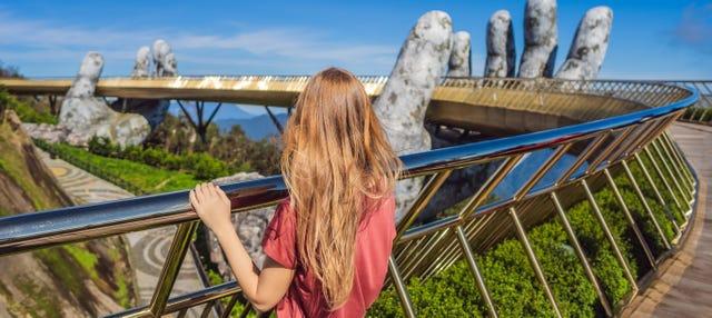 Excursión privada a la Colina de Ba Na y Puente Dorado
