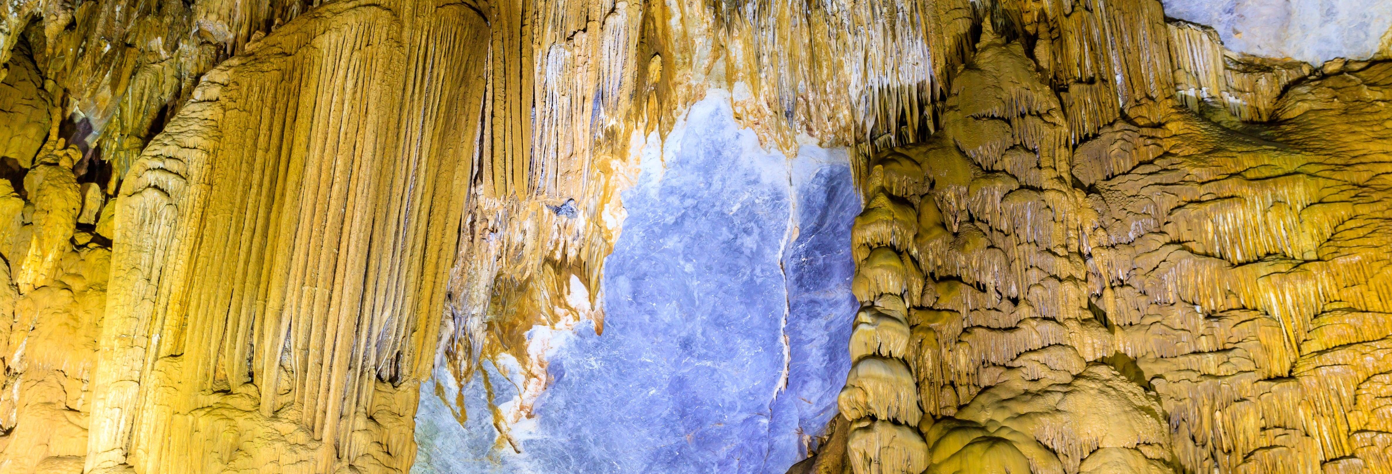 Excursão à gruta Paradise Cave