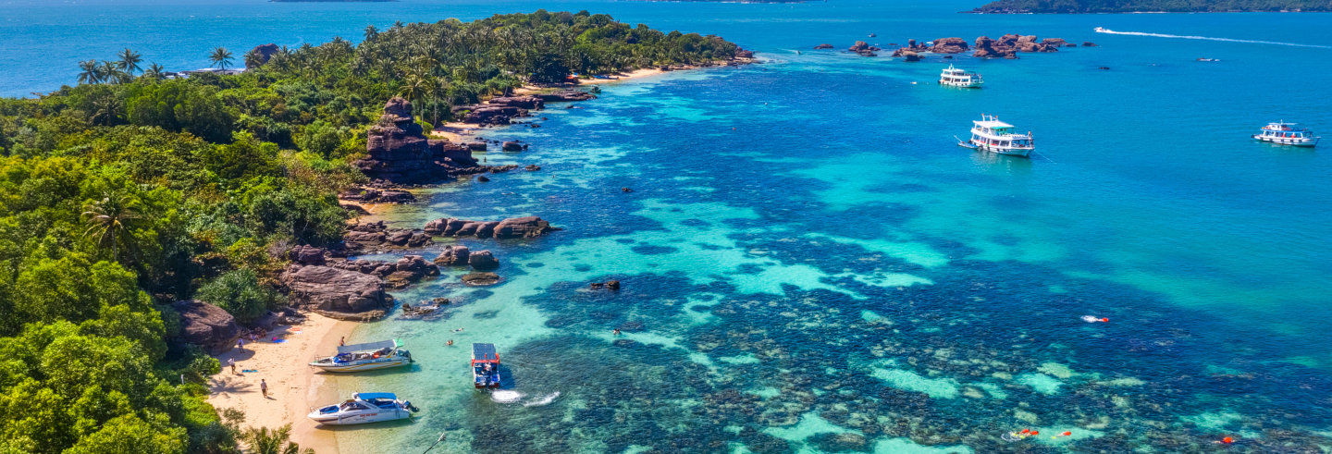 Excursão às ilhas Mong Tay, May Rut e Gam Ghi
