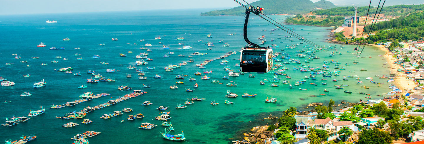 Hon Thom Cable Car & Phu Quoc Islands
