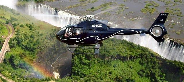 Paseo en helicóptero sobre las Cataratas Victoria