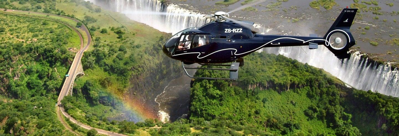 Giro in elicottero sulle cascate Vittoria
