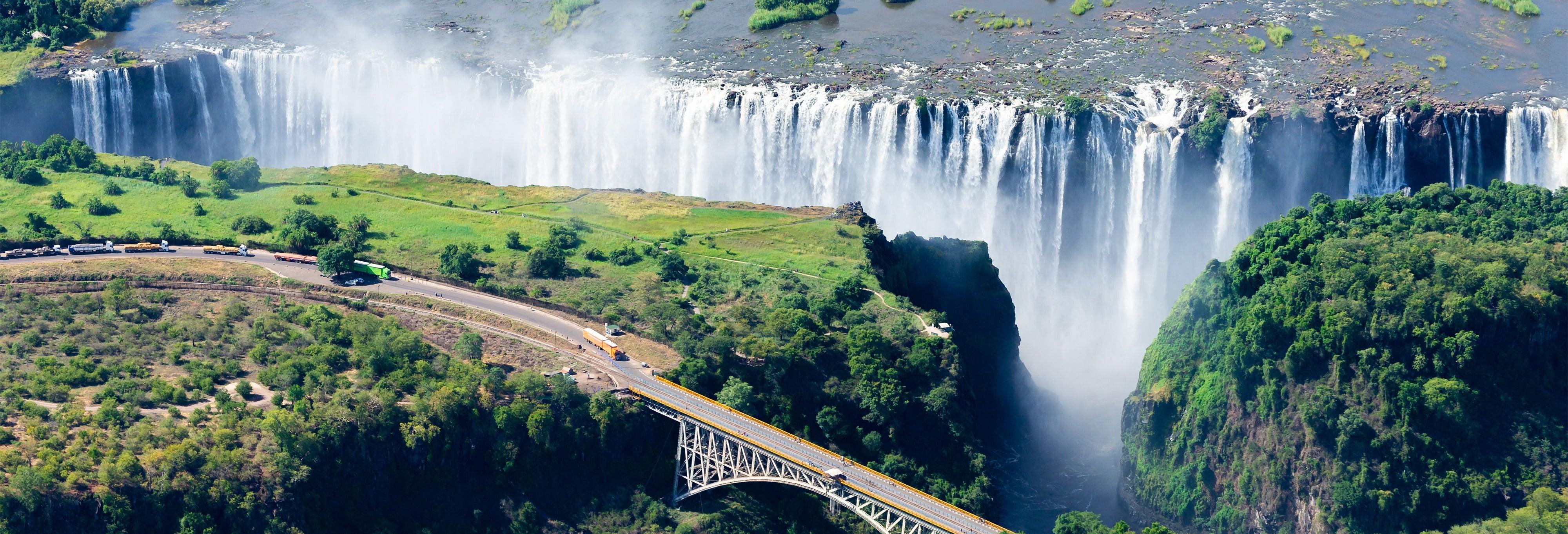 Gorge swing em Victoria Falls