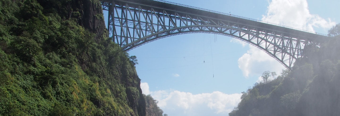 Bungee Jumping alle Victoria Falls