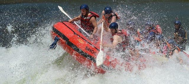 Rafting en el río Zambezi