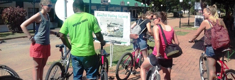 Tour por Victoria Falls de bicicleta